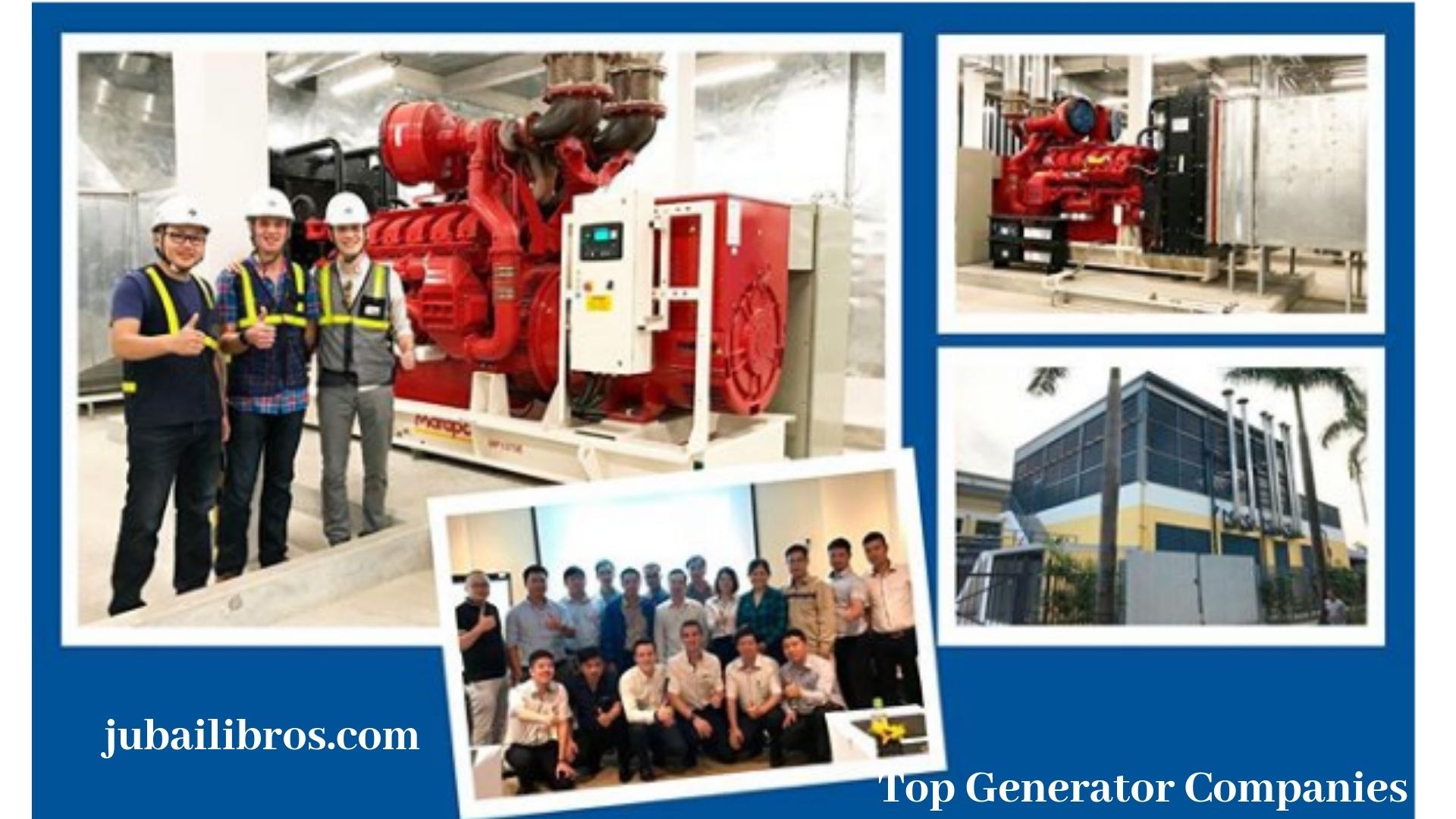 Jubaili Bross is one of the top generator company in UAE who