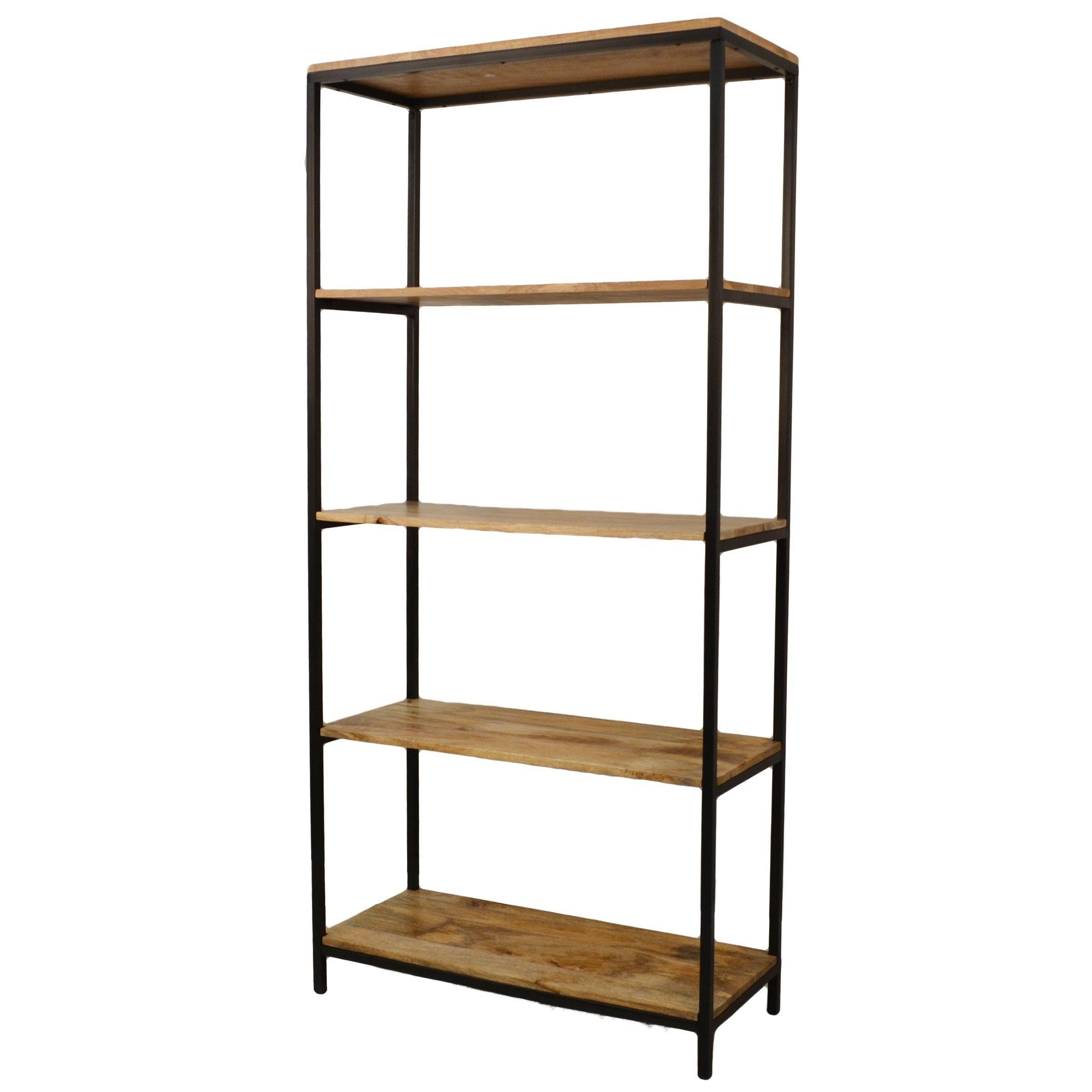 Carolina finn tall bookcase chestnut brown products