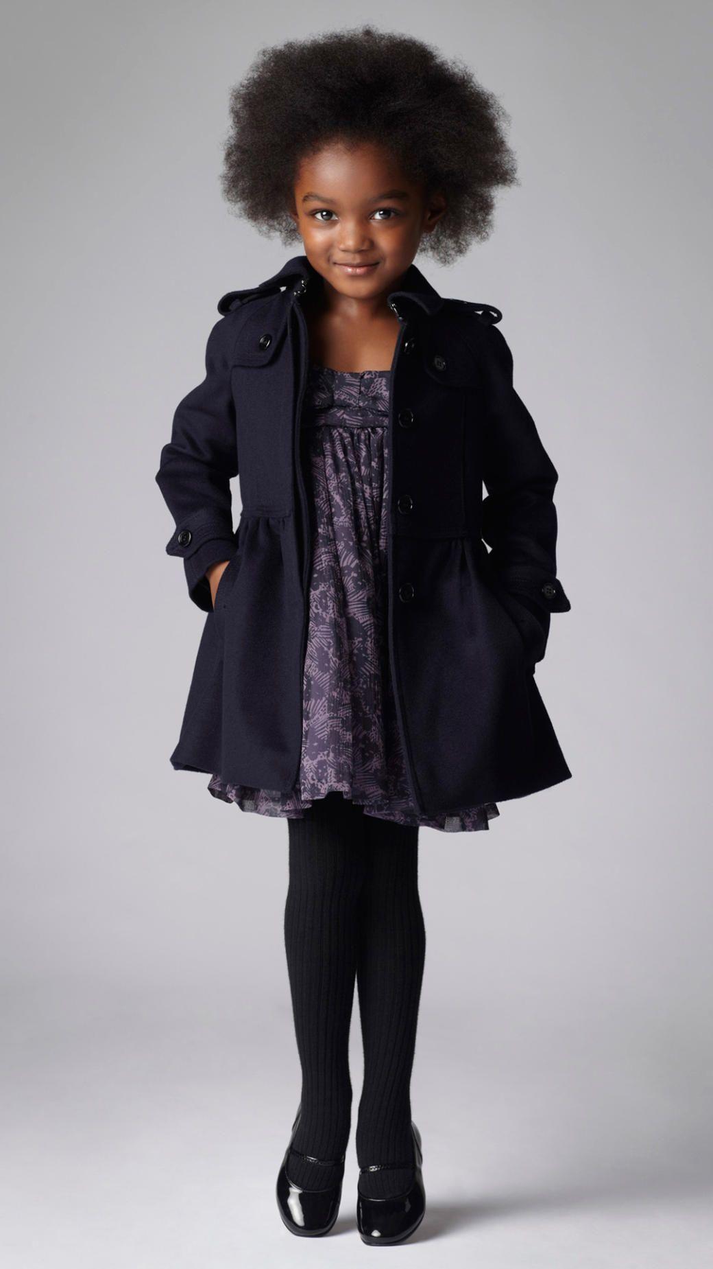 Wool Cashmere Swing Coat | Burberry