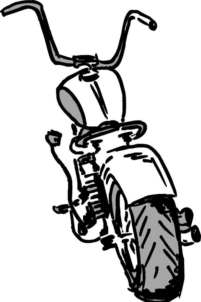 Harley Davidson Clipart : harley, davidson, clipart, Harley, Davidson, Cartoon, Pictures, Tattoo, Logo,, Drawing,, Biker