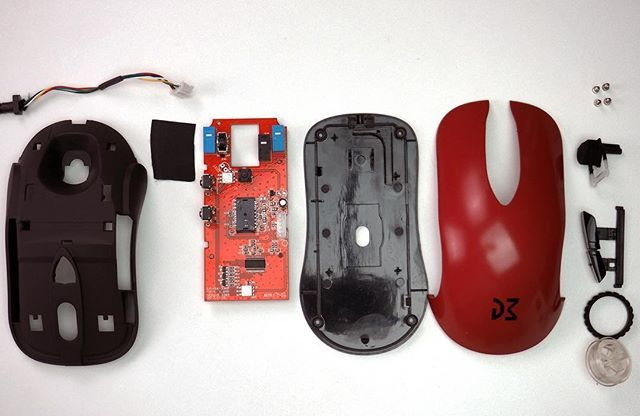 Nothing like a good mouse teardown  Check out my review on this Dm1