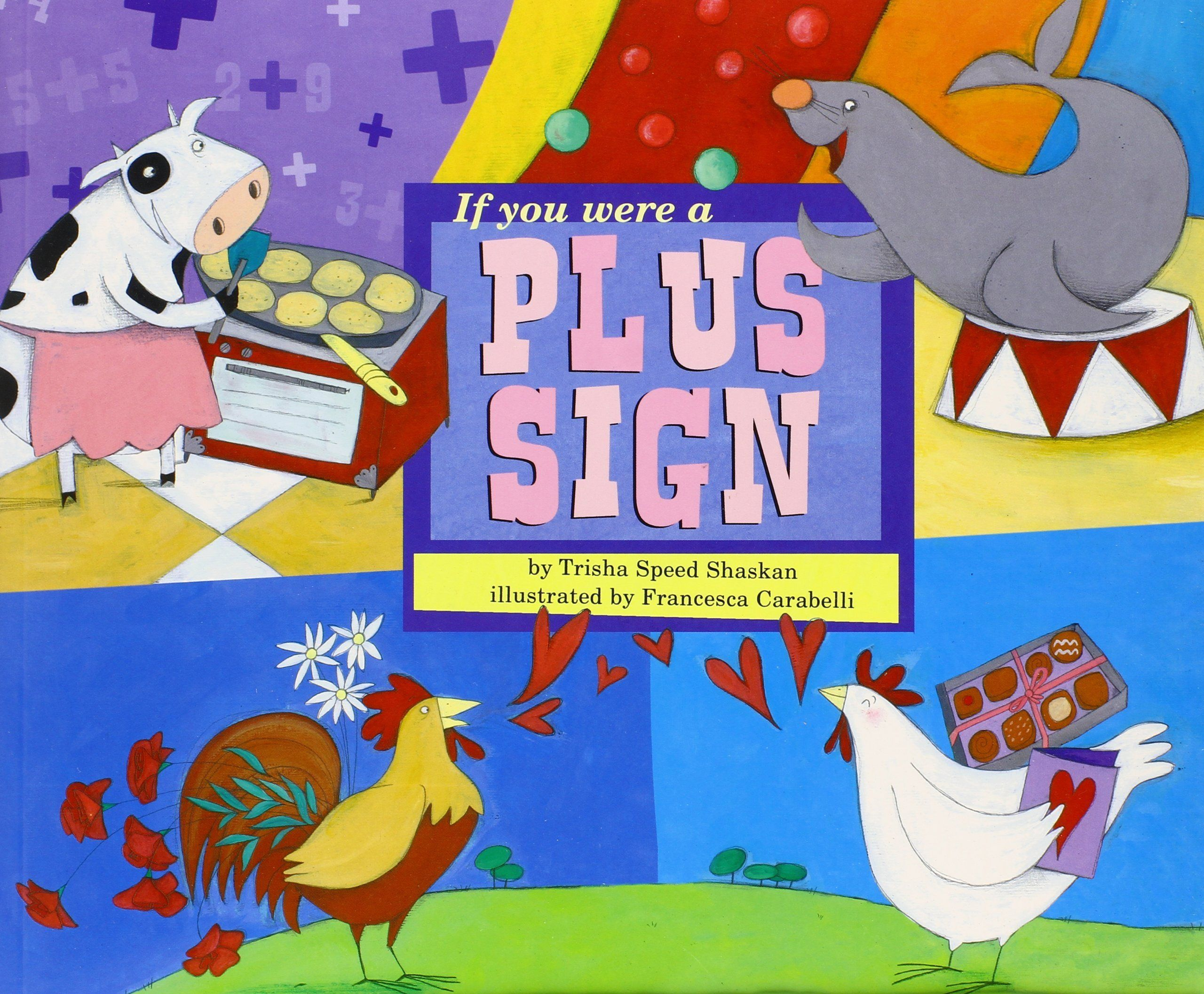 If You Were A Plus Sign Math Fun