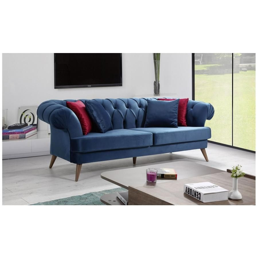 Chesterfield Sofa Polstergarnitur In 4 Farben Anemon 3 3 1 Chesterfield Skandinavisch Sofa Sofagarnitur Wohnideen Couch In Chesterfield Sofa Sofa Wohnen