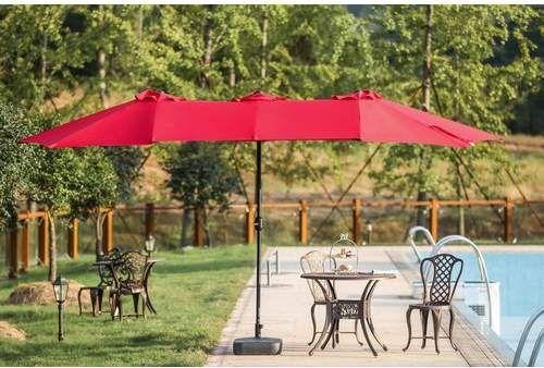 The Newest Creation Of Our Italian Designers This Absolutely Stunning Contemporary Shad Best Patio Umbrella Rectangular Patio Umbrella Pergola Ideas For Patio
