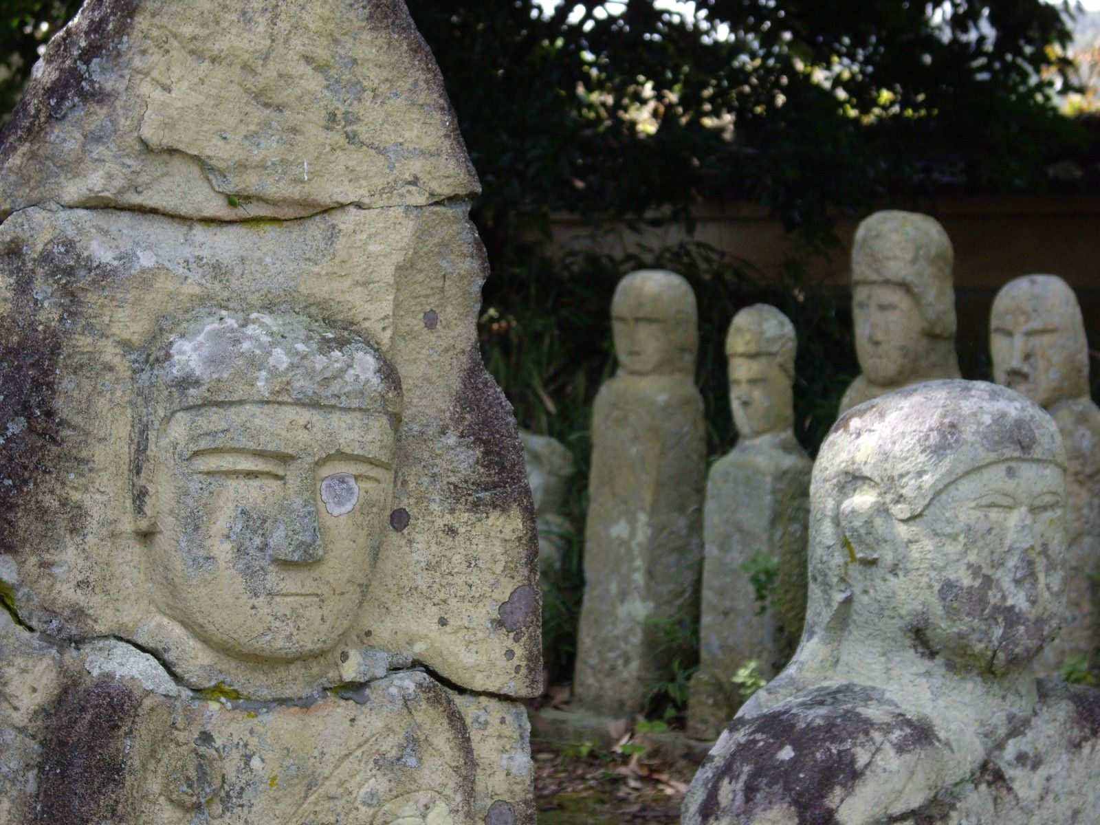 500 hundled arhats, Kasai city, Hyogo
