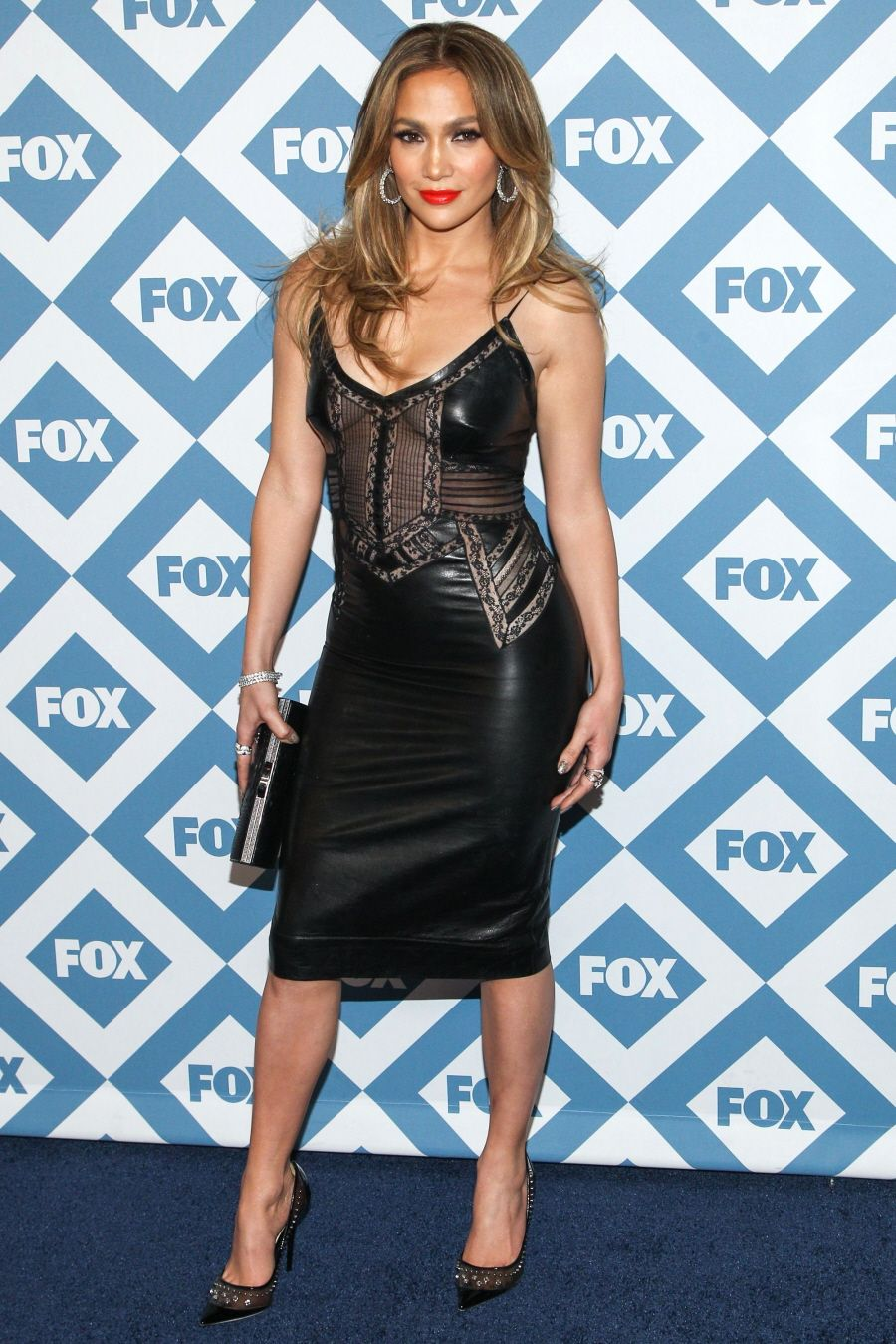 Jennifer Lopez at the 2014 TCA Winter Press Tour FOX All-Star Party ...