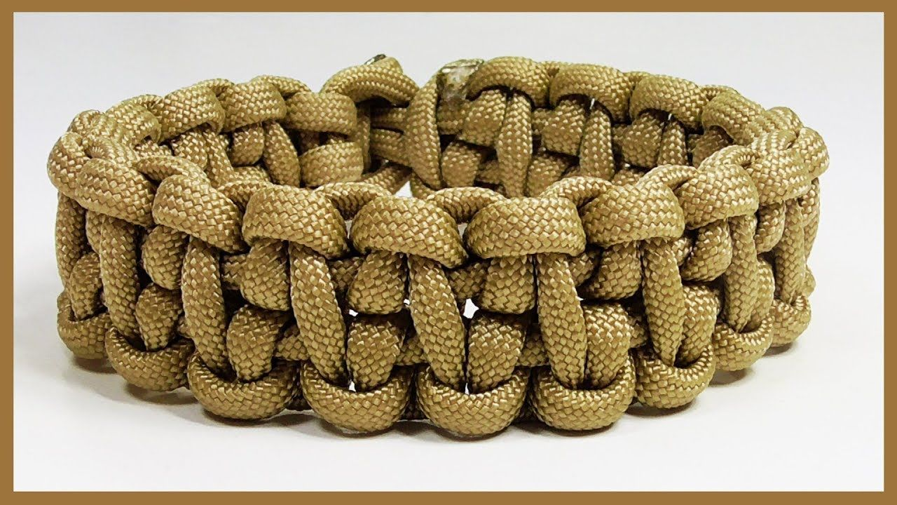 how to end a paracord bracelet without buckle