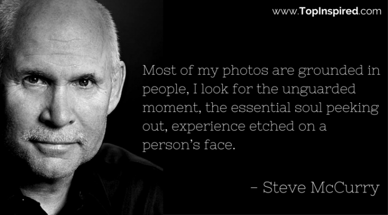 Top 10 Steve Mccurry Quotes Steve Mccurry Photographe