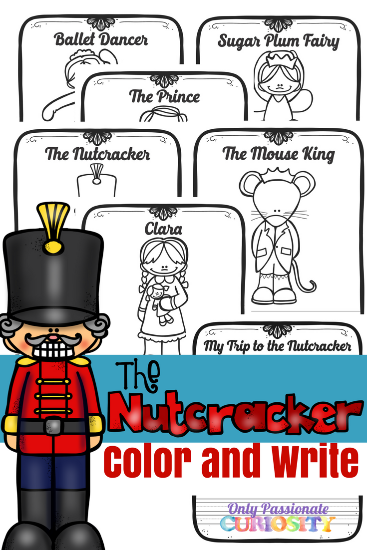 graphic about Nutcracker Worksheets Printable called Nutcracker Colour and Generate Excellent Of Just Pionate