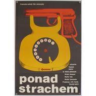 Ponad Strachem (Fear of Fear) original Polish film poster