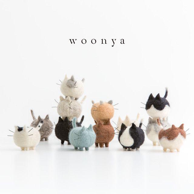 White Tiger Truslin DIY Needle Felting Kit with Gift Box DIY Toys Faceless Animal