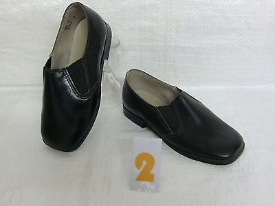 Retro original #1970s vintage infants #shoes boys black #leather slip on size 6 ,  View more on the LINK: http://www.zeppy.io/product/gb/2/391297090162/