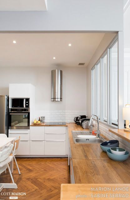 Blog Wnetrzarski Design Nowoczesne Projekty Wnetrz Stylowe Francuskie Mieszkanie W Stary Interior Design Kitchen Contemporary Kitchen Plans Kitchen Remodel