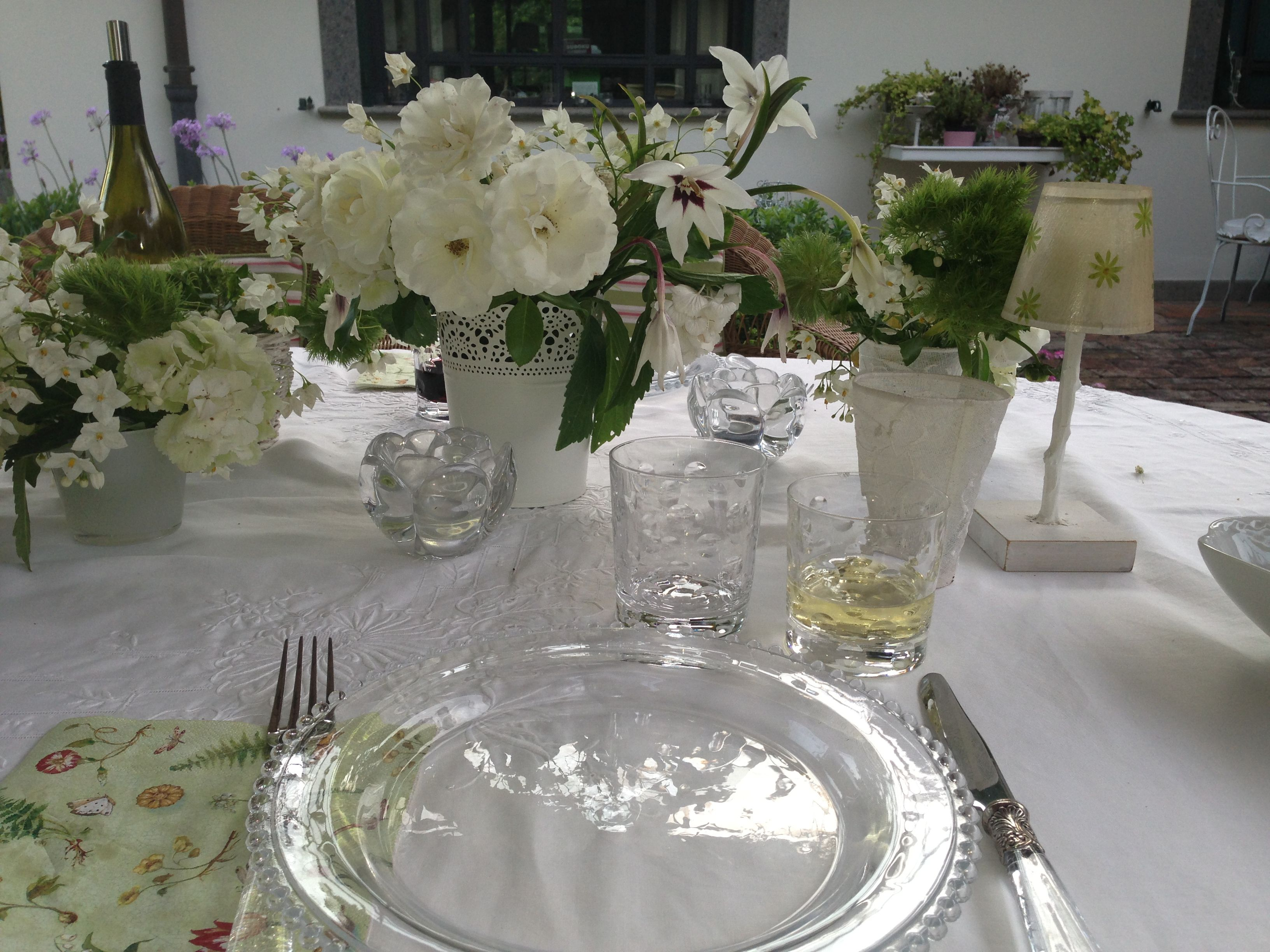 My white dining table