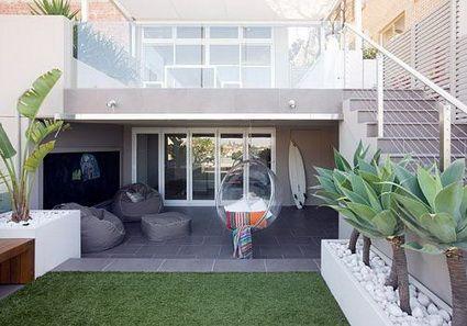 Ideas para patios peque os decoraci n de jardines for Pisos para patios pequenos