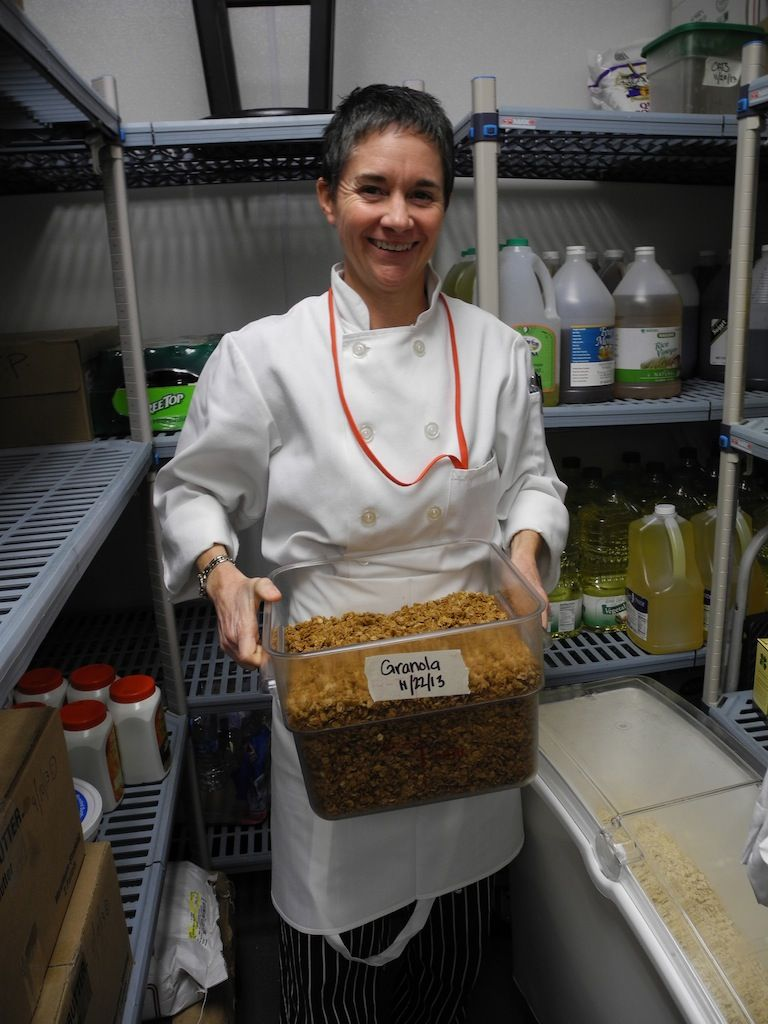 Chef Bethany Markee from Solvang (CA) School Cafeteria's