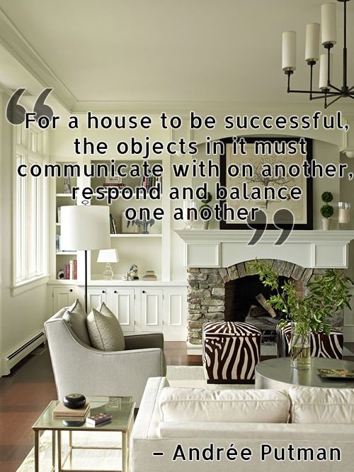 Interior Design Quotes And Poems Quotesgram Home Living Room