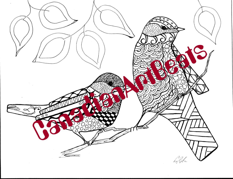 Atractivo Colorear Chickadee Festooning - Ideas Para Colorear ...
