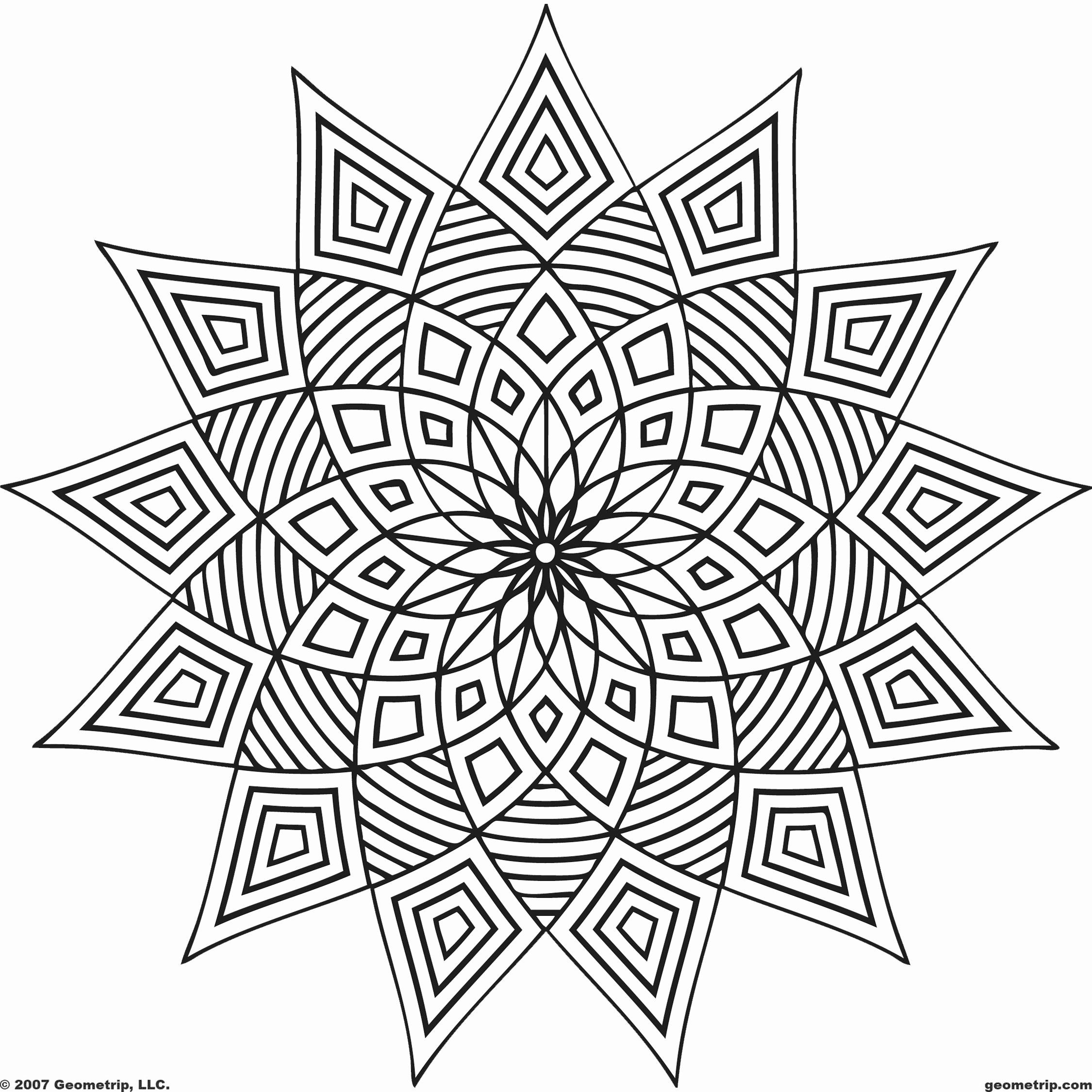 Symmetry Coloring Design Worksheets Inspirational Coloring Book Freentable Geometric Co Geometric Coloring Pages Abstract Coloring Pages Pattern Coloring Pages