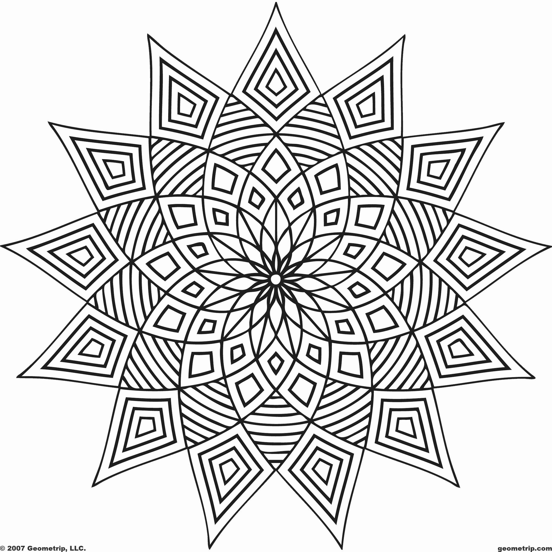 Symmetry Coloring Design Worksheets