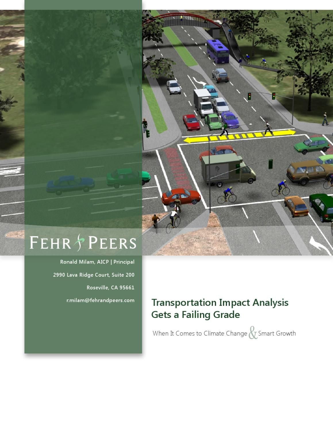 Transportation Impact Analysis Gets A Failing Grade  Transportation