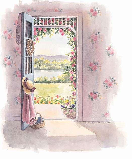 Девочек, картинки с окнами скрапбукинг