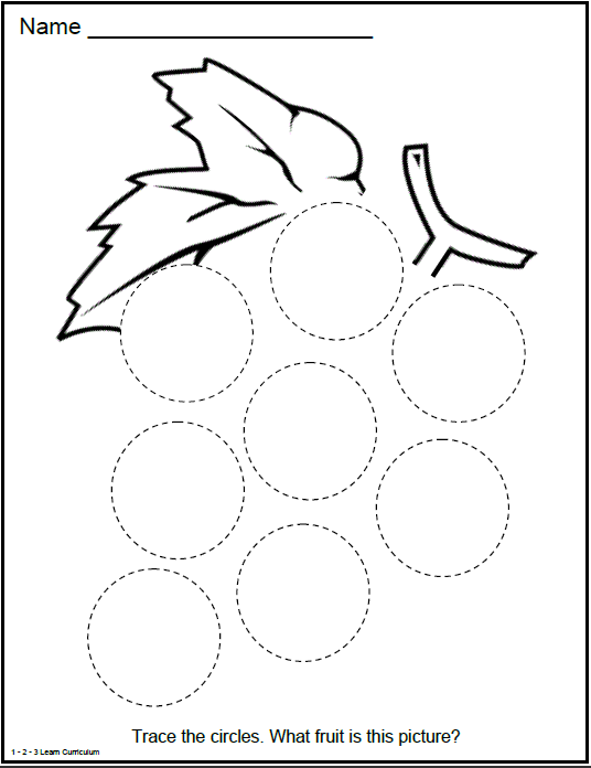 Circle Worksheets circle worksheets kindergarten related to – Circle Worksheet