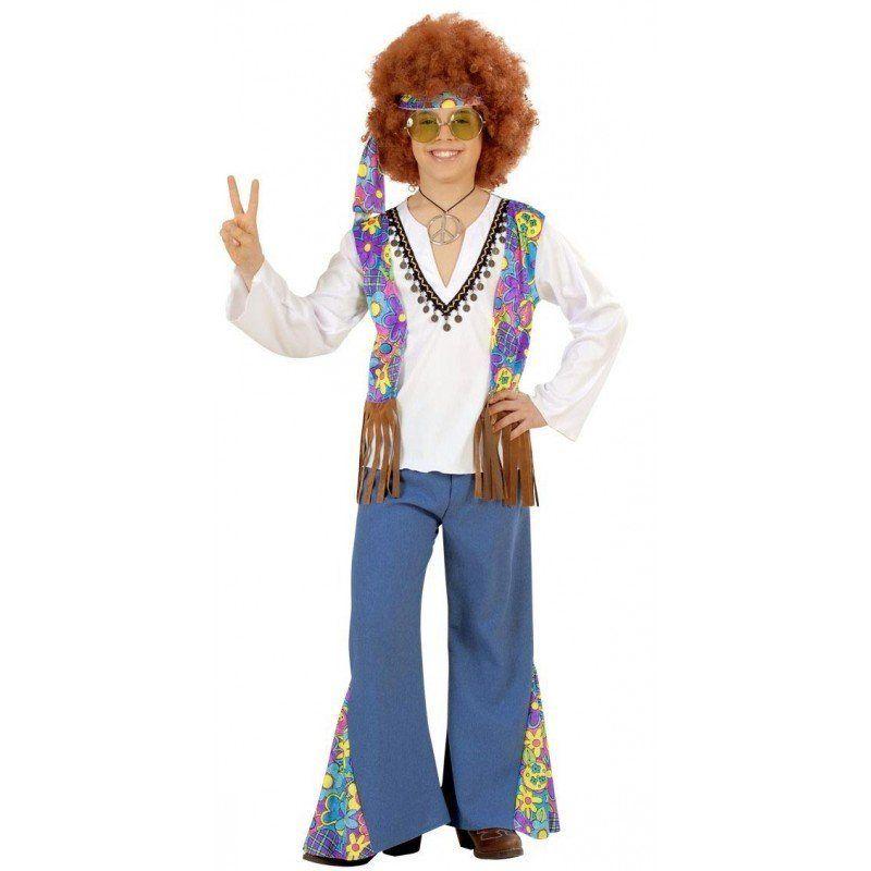 woodstock hippie kostüm für jungen stilvoller schlag