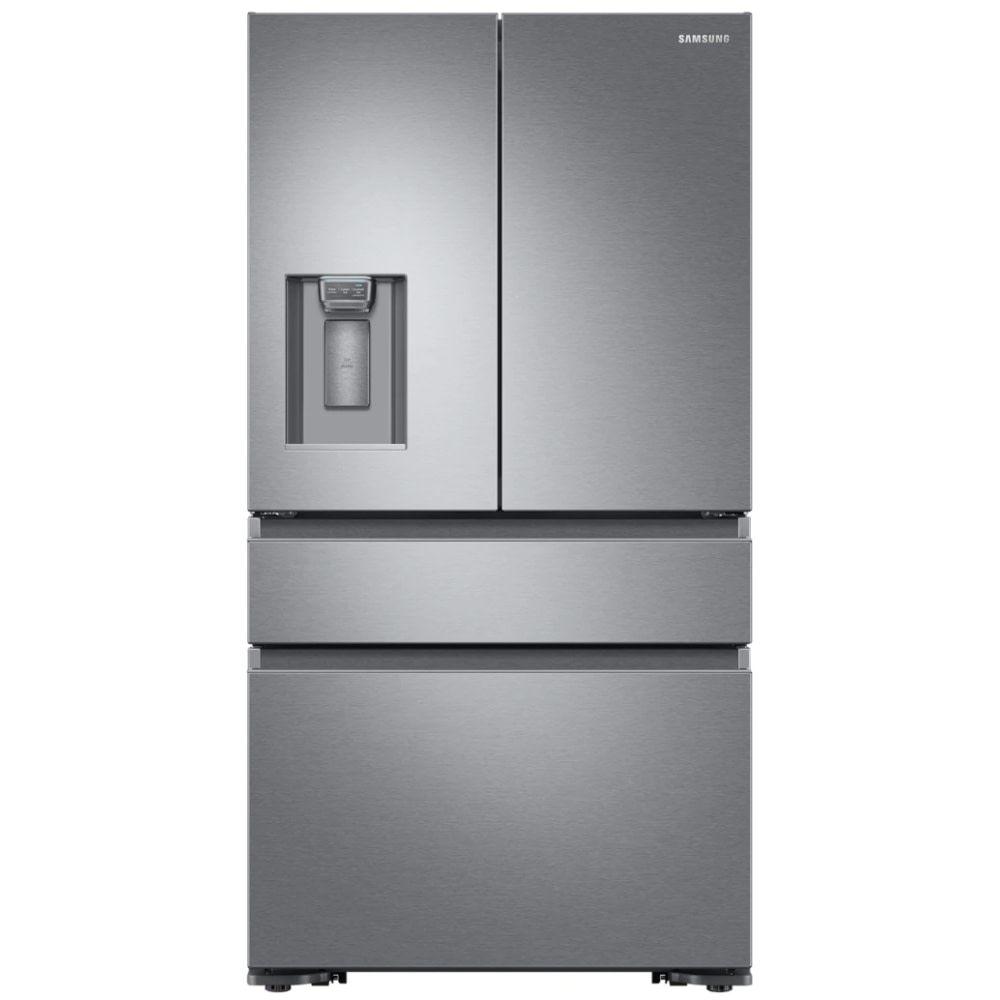 Samsung rf23m8080sr french style 4 door fridge freezer ice