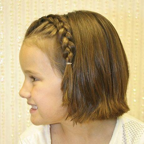 frisuren für kurze haare kinder mädchen - neue haar