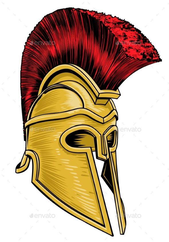 Ancient Greek Trojan Spartan Gladiator Helmet Gladiator Helmet Spartan Helmet Tattoo Ancient Greek Costumes