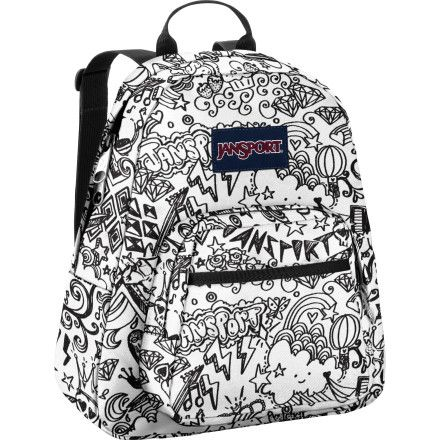 Jansport - Half Pint Backpack In Pink Prep Hippy Skip ($25 ...