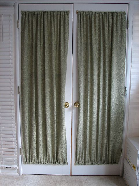 French Door Window Curtains French Door Curtains French Doors