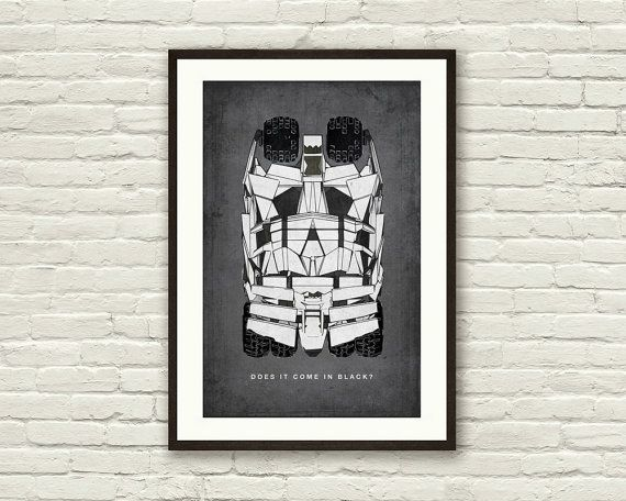 BATMAN The DARK KNIGHT Inspired Tumbler Batmobile Minimalist Movie ...