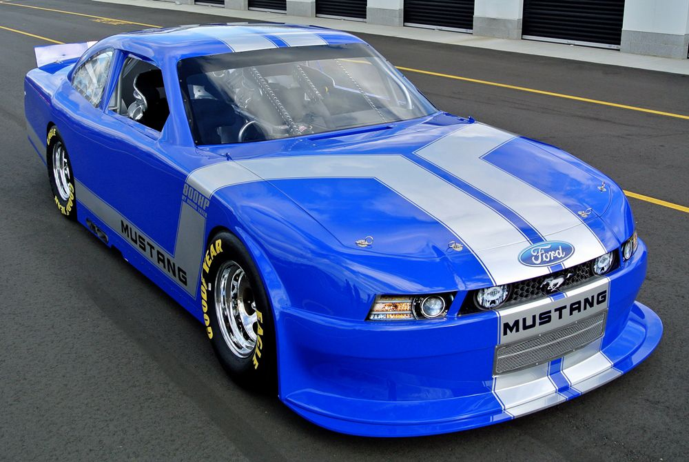 This One Of A Kind Ford Mustang Nascar Road Race Car Designed And Newly Built By Nascar Hall Of Famer Rusty Wallace Features A