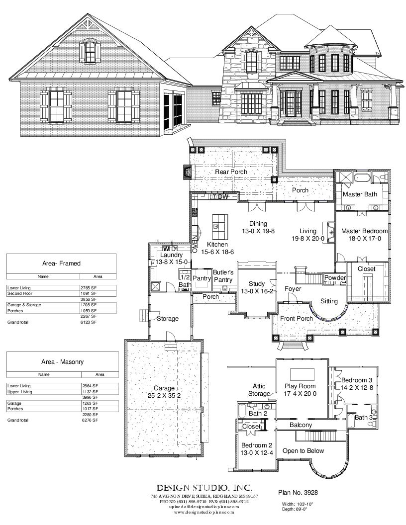 29402 Fitzgerald This House Plan 39 S Deep Covered Entry Opens To An Expansive Cathedral Ceiling Great Farmhouse House House Plans Open Floor Plan Farmhouse