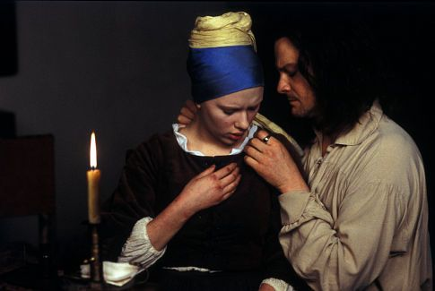Girl With A Pearl Earring Colin Firth Brinco Perola E Cabelos