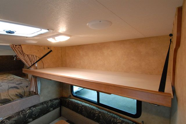 Lance 825 Review Remodeled Campers Bunk Beds Bunks