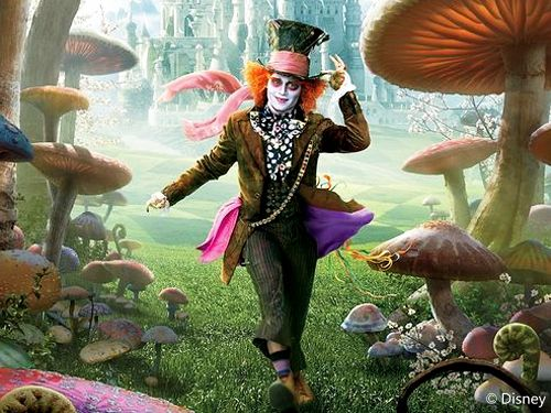 The Mad Hatter's Costume in Tim Burton's Alice in ...  Mad
