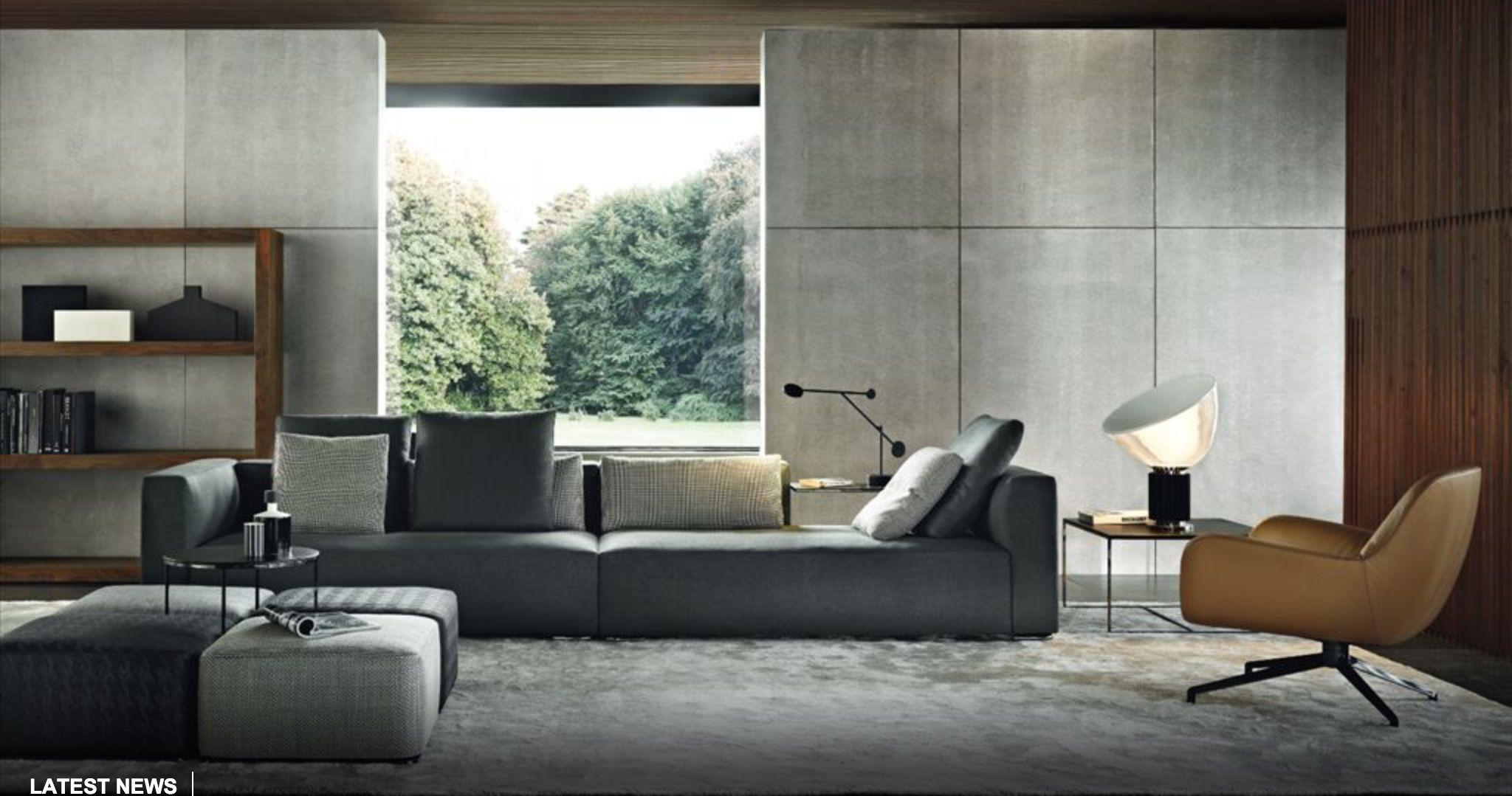 Room Loft Contemporary SofaContemporary Living