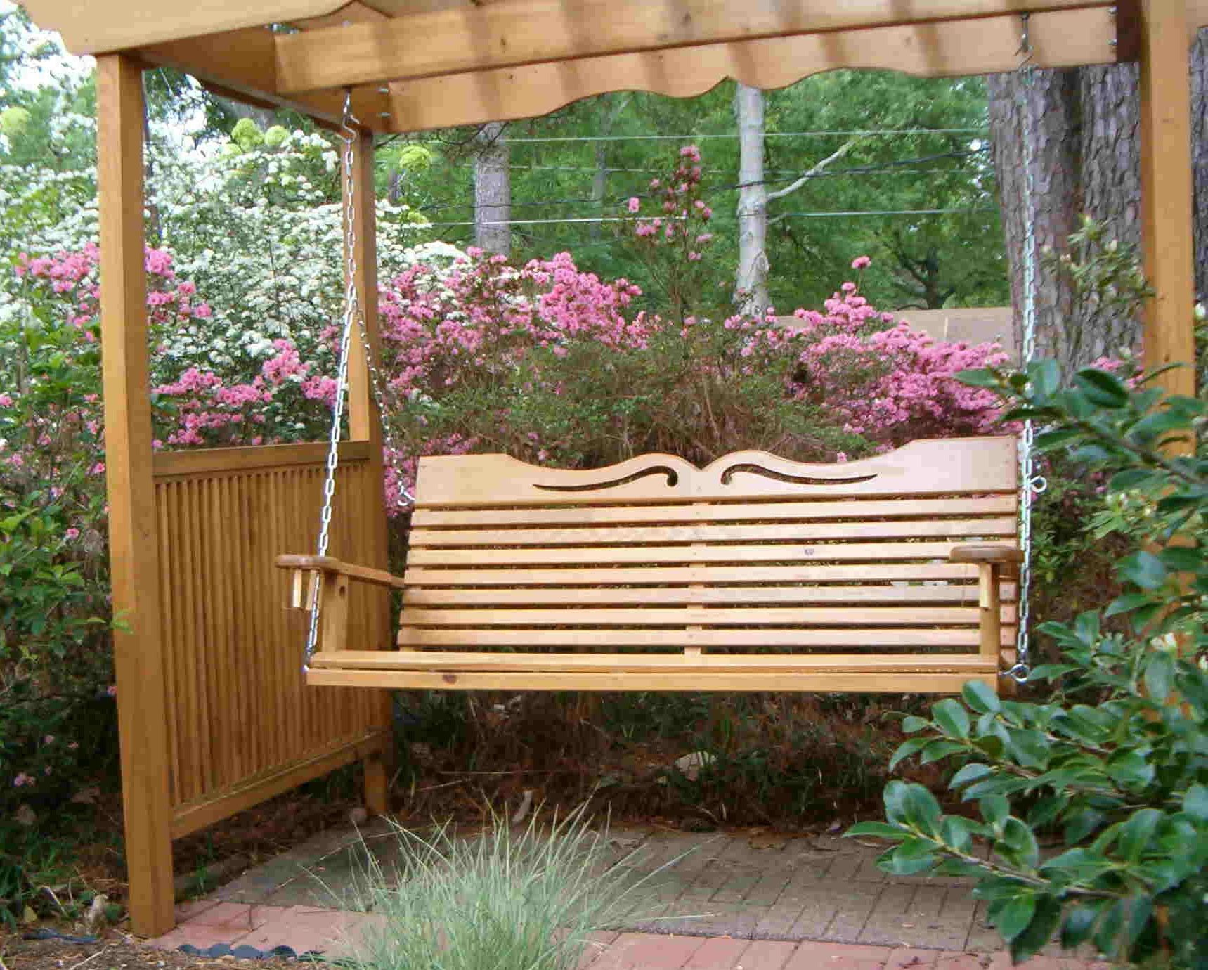 Porch Swings for Your Comfy Outdoor Furniture Ideas Porch Swing Canopy Replacement | Amish Made : porch glider with canopy - memphite.com