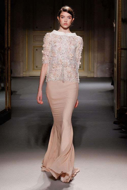 George Hobeika Haute Couture Spring/Summer 2013 - Paris    Model: Grace Hartzel
