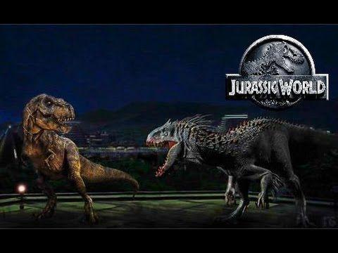 Jurassic World Indominus Rex Vs T Rex What If The Indominus Won Jurassic World Jurassic World Indominus Rex Indominus Rex