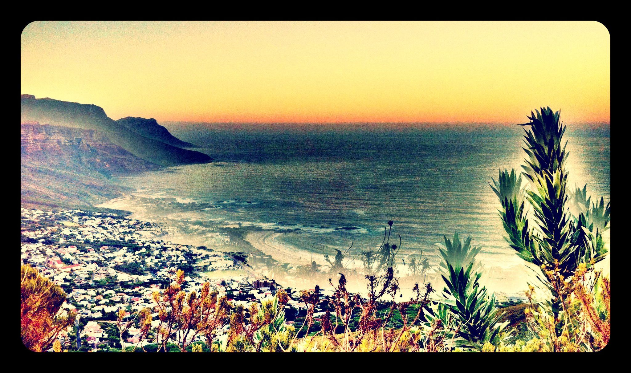 Cape Town where I spent some very happy years