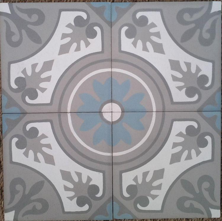Carreaux ciment: modèle Old Lilly 14X14   Carreaux ciment, Idées pour la maison, Carreau de ciment