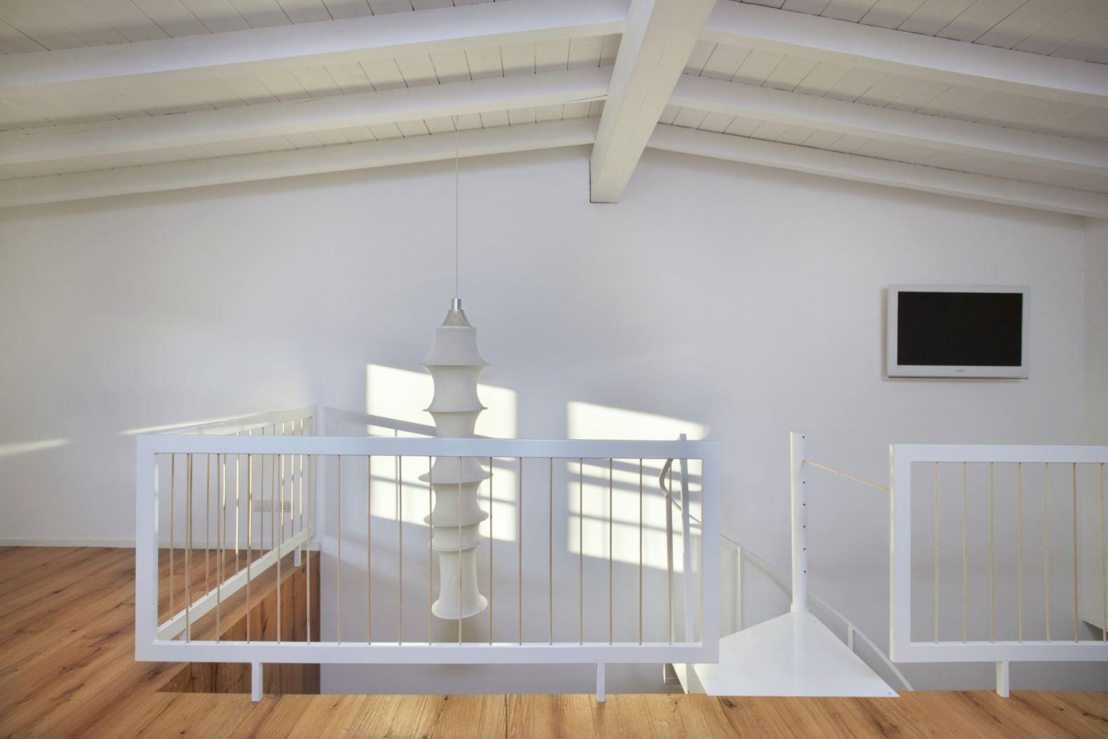 Una mansarda open space in verticale http//www.mansarda