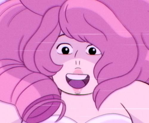Rose quartz screenshot Steven universe   Steven universe gem, Steven universe stickers, Steven ...