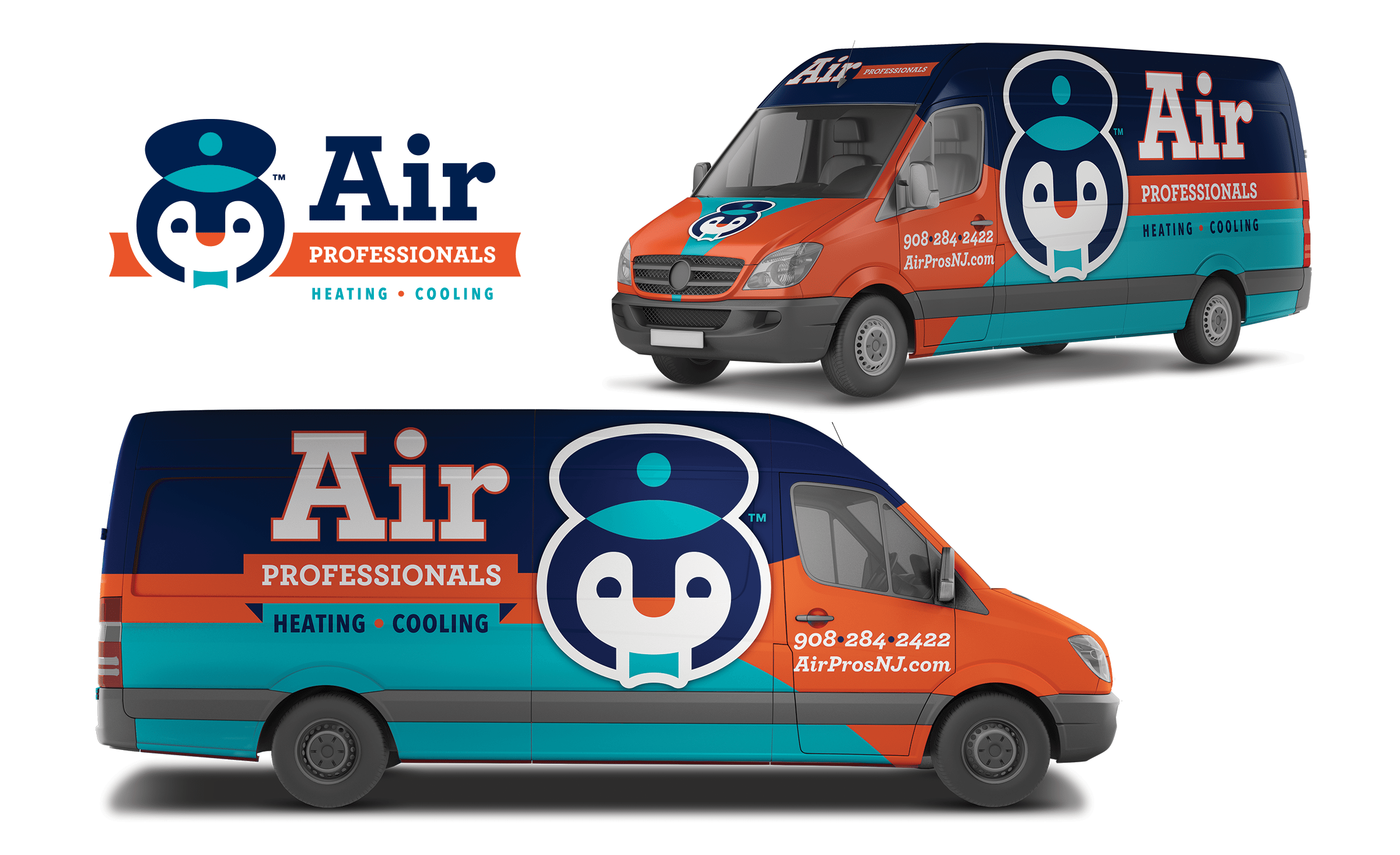 Vehicle Wrap Design For Air Professionals A New Jersey Based