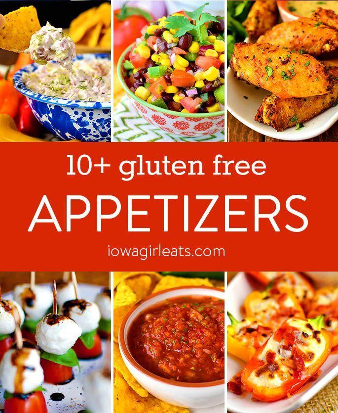 10+ Gluten Free Appetizers