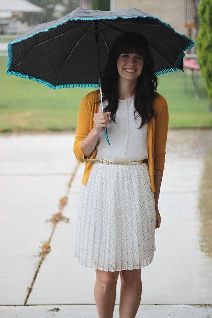 Suz and Viv: Raindrops keep falling on my head